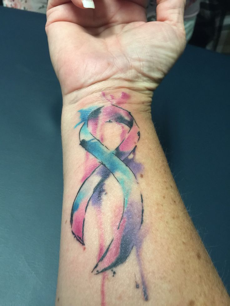 Watercolor Thyroid Cancer Tat | For all of Us | Pinterest ...