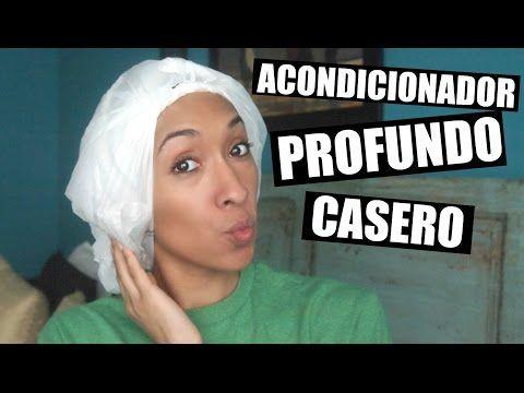 Acondicionador Profundo Casero Para Cabello Rizado - YouTube