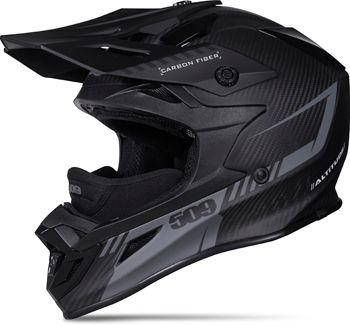 509 ALTITUDE CARBON FIBER HELMET - BLACK OPS (2016) - Side View
