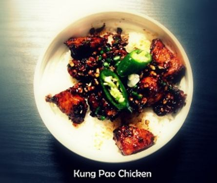 Kungpao Chicken it spicy and hot!!
