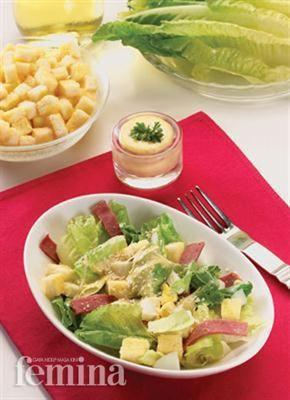 Femina.co.id: Caesar Salad