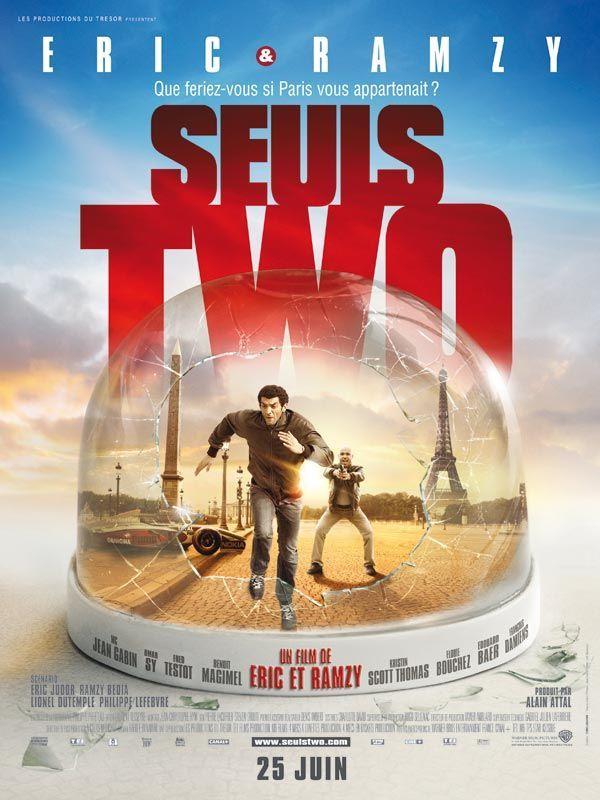 Seuls Two est un film réalisé par Éric Judor et Ramzy Bedia, sorti le 25 juin 2008 en France. Il s'agit du premier film d'Éric et Ramzy où ils sont eux-mêmes les réalisateurs. Gervais, policier médiocre raillé par ses collègues du commissariat, rêve d'arrêter Curtis, un cambrioleur futé qui lui échappe depuis longtemps. Un beau jour, alors que Gervais poursuit Curtis et semble enfin atteindre son but, il se retrouve sur l'avenue des Champs-Élysées vidée de ses habitants, et il en est de…