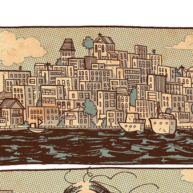 Sopa de salsicha página 93.  #graphicnovel #sopadesalsicha #ciadasletras #comics #eduardomedeiros #hellatoons