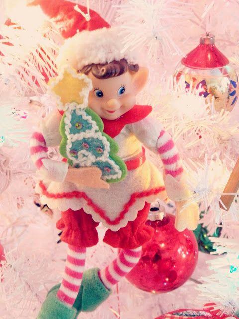 450 best Santa\'s Elves! images on Pinterest | Elves, Retro christmas ...