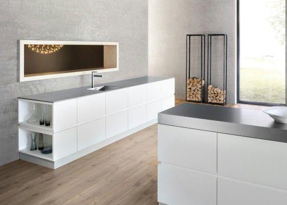 die besten 25+ edelstahl arbeitsplatte ideen auf pinterest ... - Küche Mit Edelstahl Arbeitsplatte
