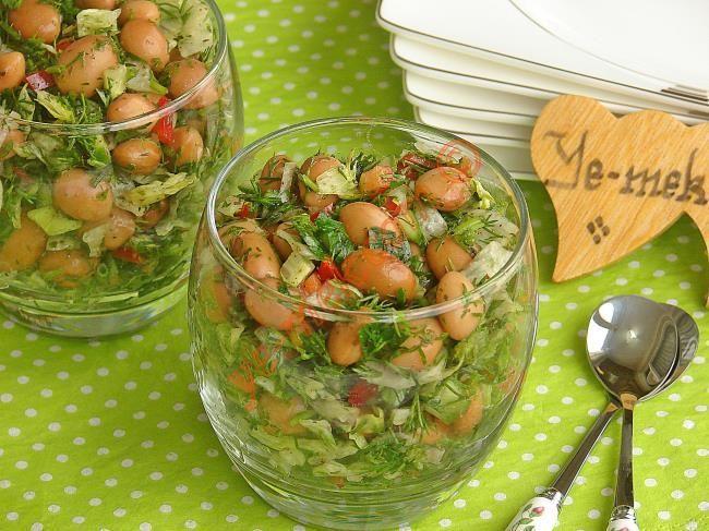 Barbunya Salatası nasıl yapılır? Kolayca yapacağınız Barbunya Salatası tarifini adım adım RESİMLİ olarak anlattık. Eminiz ki Barbunya Salatası tarifimizi yaptığ