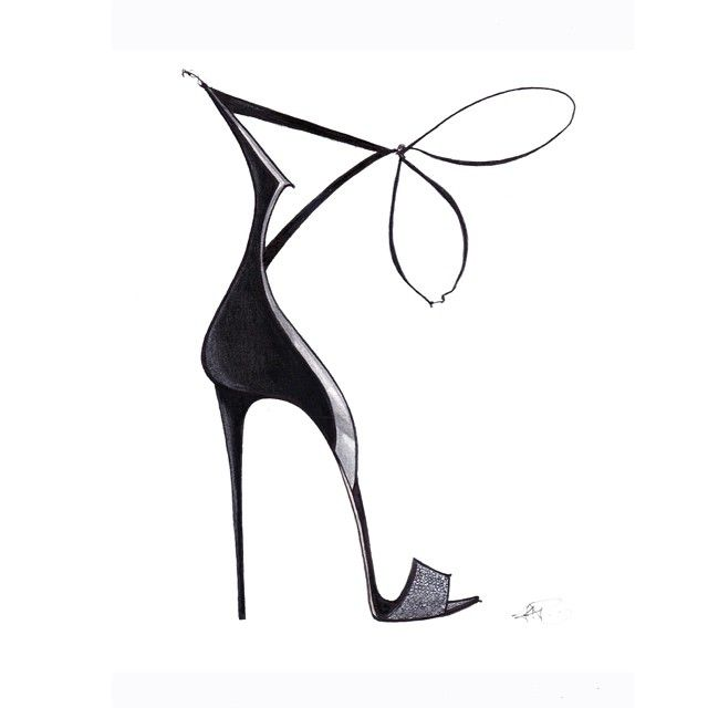 Shoe Sketch - fashion illustration // Jamie Lee Reardin