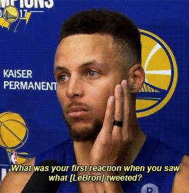 Steph Curry on Media Day