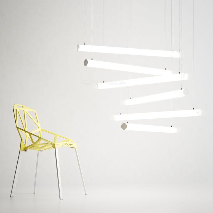 Подвесной светодиодный светильник в оригинальной композиции #современноеосвещение #светодиодноеосвещение #энфог #enfog