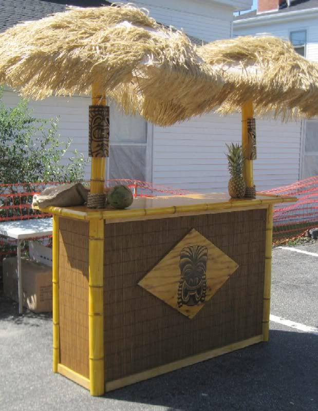 so i made a portable tiki bar cheap tiki central