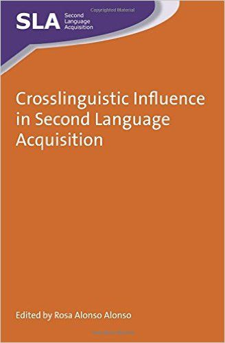 second language aqcuisation Second language acquisition and pedagogic grammar  christoph suter first language acquisition and second language learning contrasted david dawson.