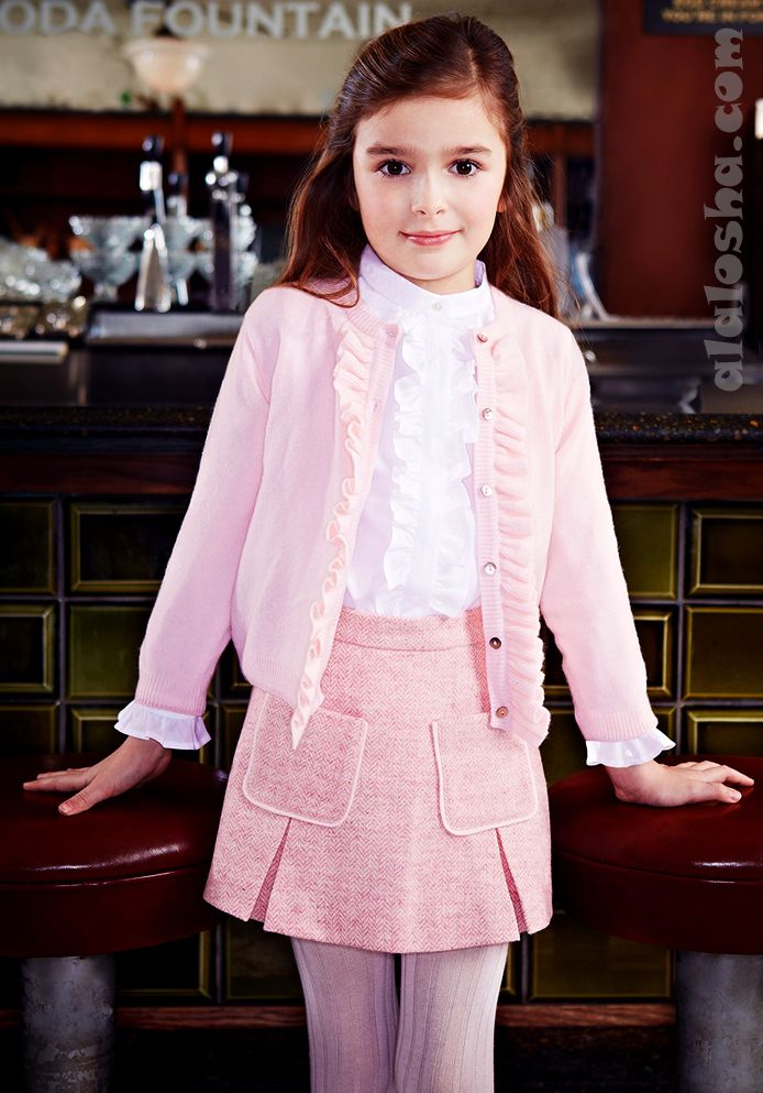 ALALOSHA: VOGUE ENFANTS: Oscar de la Renta FW'14 school fashion