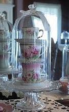 tea cup stack - nice for tea-time