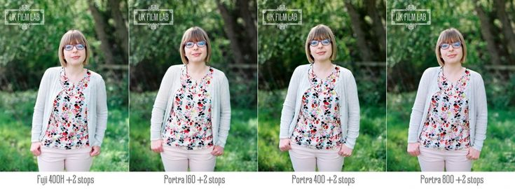Film Stock and Exposure Comparisons | Kodak Portra and Fuji