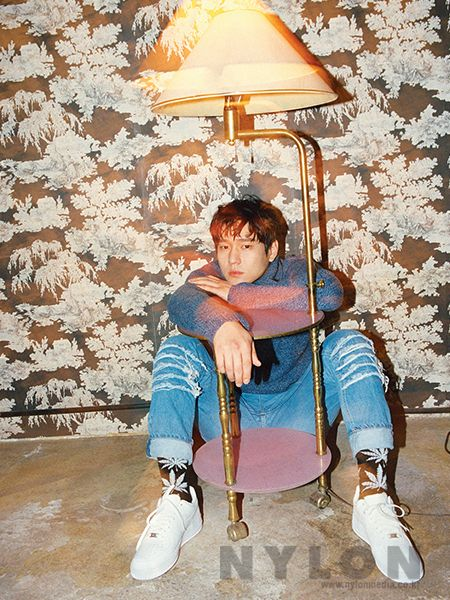 Go Kyung Pyo - Nylon Magazine January Issue '16