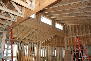 Clerestory Window Framing Cabin In 2019 House Roof