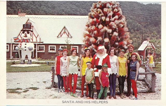 Vintage Postcard from Santa's Land in Cherokee, NC ...