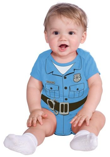 Police Officer Onesie Costume
