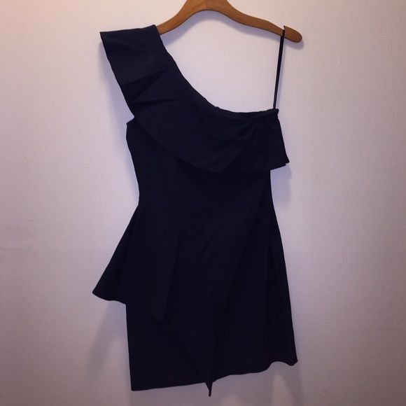 Navy Blue Cocktail Dress Navy Blue Cocktail Dress. 50% Polyester, 50% Stretch Cotton Ark & Co Dresses