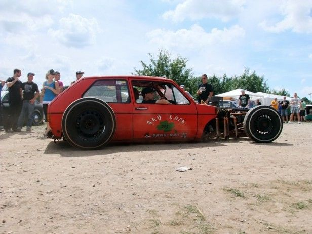 rat rod volkswagen | VW Golf MK1 V8 Rat Rod. (via Rust´n Roll 2011)