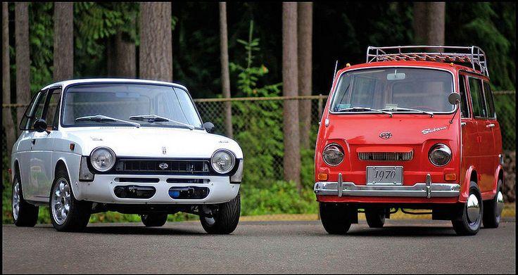 1970 Subaru FF1 & 1970 Subaru 360
