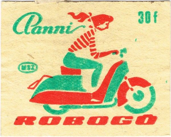 Hungarian Matchbook Covers 4