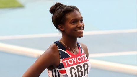 shortlisted for BBC young sportsperson of the year 2013, athlete Dina Asher-Smith