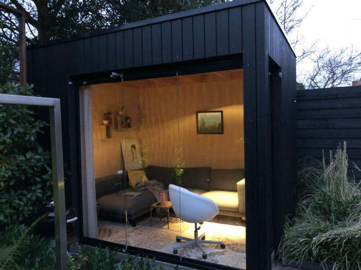 Gastenverblijf bouwen tuin: bouwen in de tuin arend groenewegen