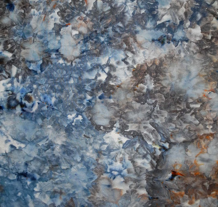 Lisa Kerpoe: Ice Dyeing Observations