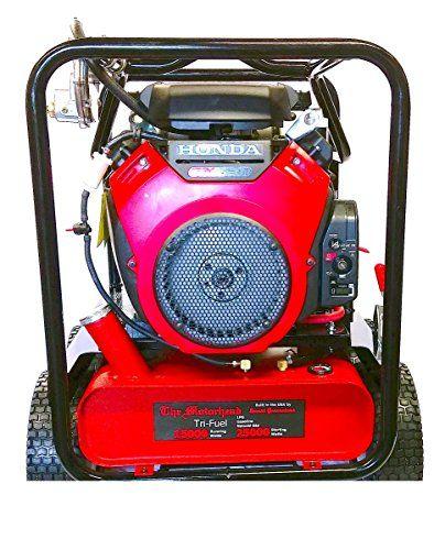 Motorhead Tri Fuel Generator whole arrangement 25,000 Starting Watts 15,000 managing Watts