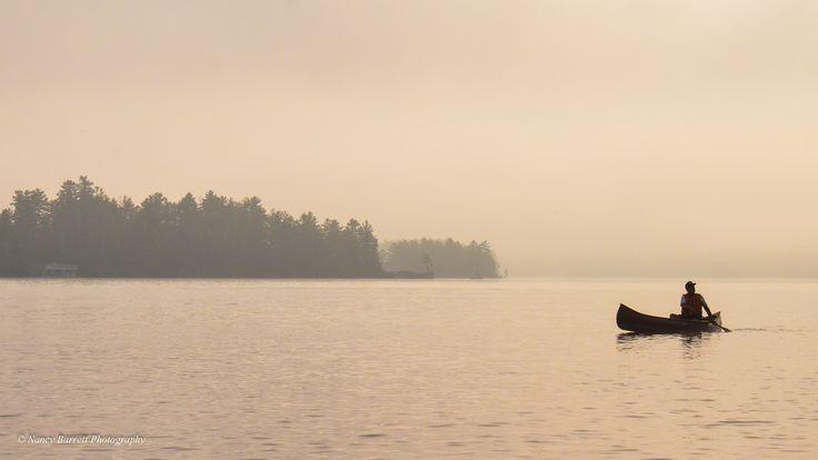A beautiful, still morning on Lake Muskoka