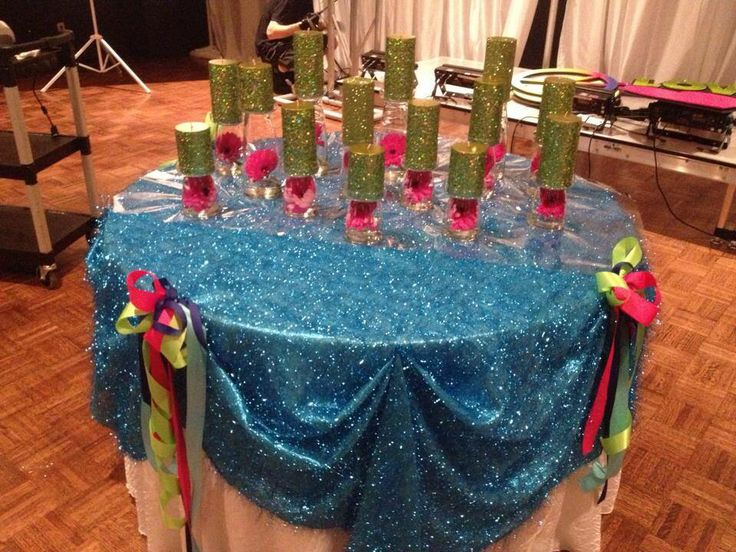 Sparkly blue linens freshly pressed and ready for a great event! #affairstoremember #sparkles #mitzvah #eventrentals #blue #eventlinens
