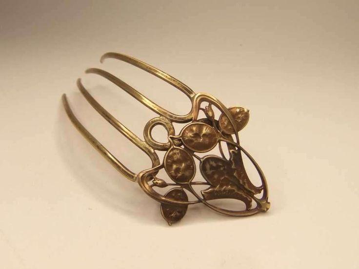 Bijoux Pour Cheveux Vintage : Best images about peigne ? cheveux on horns