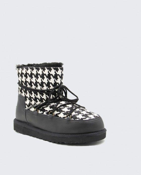 円 12500 千鳥格子 ファッション 靴ひも スノーブーツ UGG ウィメンズシューズ 新品 激安