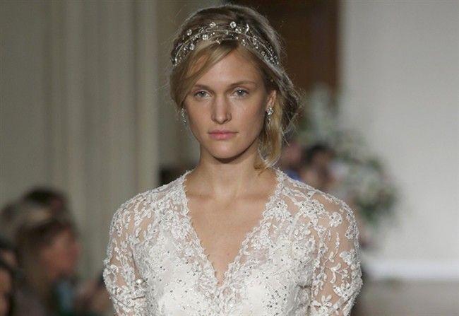 New York: in passerella la sposa di Jenny Packham