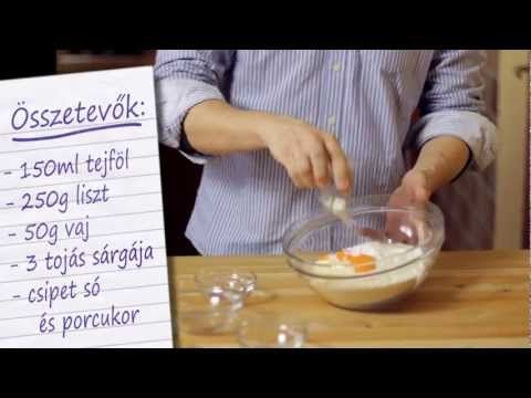 Csörögefánk recept