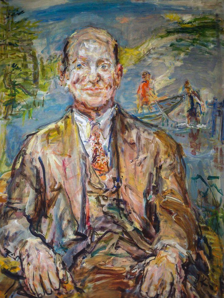 Oskar Kokoschka - Henry Pearlman, 1948 at Princeton University Art Museum NJ