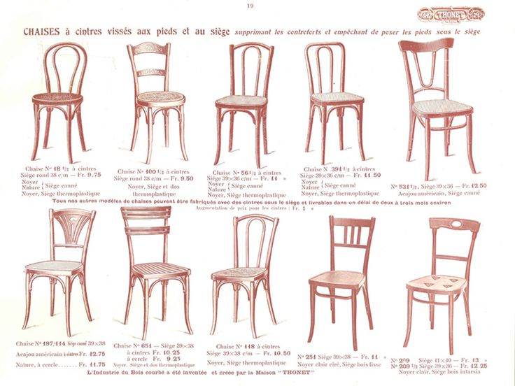 le v ritable catalogue de vente de meubles thonet 1914. Black Bedroom Furniture Sets. Home Design Ideas