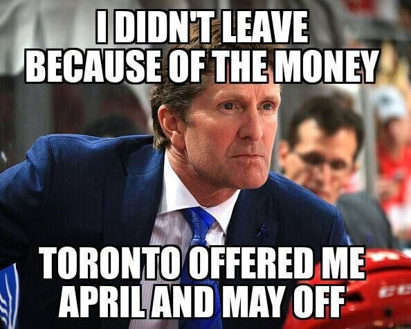 Mike Babcock on leaving the Detroit Red Wings