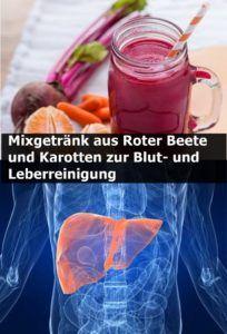 Mixgetränk aus Roter Beete und Karotten zur Blut- und Leberreinigung | njuskam!