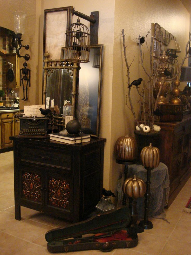 halloweendecor halloween decorating - Classy Halloween Decorations