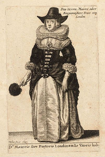 High Middling. Artist Wenceslaus Hollar (1607–1677) Link back to Creator infobox template wikidata:Q448555 Title Dni. Maioris sive Pretoris Londinensis Vxoris hab.. State 1. Date Unknown date (author lived 1607-1677) Dimensions 9 x 6 cm. Current location Thomas Fisher Rare Book Library Link back to Institution infobox template wikidata:Q7789602 Wenceslas Hollar Digital Collection Accession number Plate number: P1892.