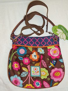 Lily Bloom Bags on Nwt Lily Bloom Enchanted Brown Crossbody Bag Purse Tote