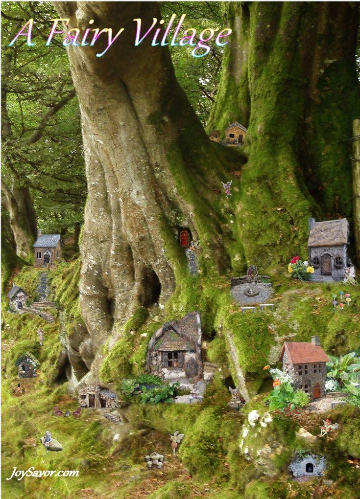 A Fairy Village JoySavor com