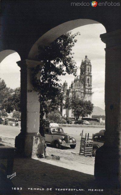 Fotos de Tepotzotlán, México, México: Templo de Tepotzotlán