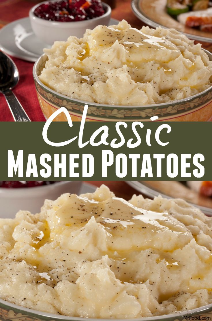You can never go wrong with a recipe for Classic Mashed Potatoes. Just 5 ingredients and you've got a creamy and comforting mashed potatoes.