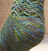Sock Knitting: Shadow Wrap Short-Rows - Knitting Daily - Knitting Daily