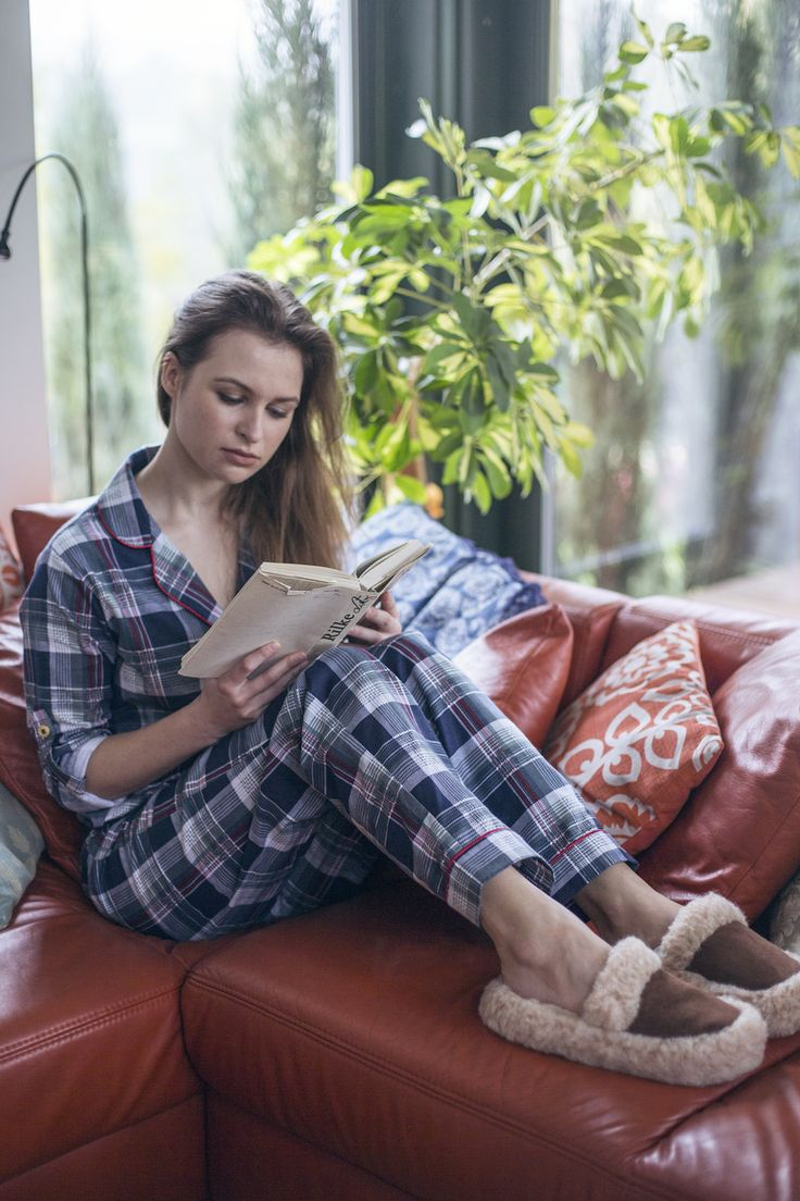 Piżama damska Laura Tartan | Lunaby