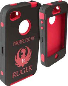 ALLEN CO INC Allen Iphone 4/4s Ruger Logo Cell Phone Case, EA