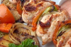 Chicken Souvlaki Recipe   TheWHOot